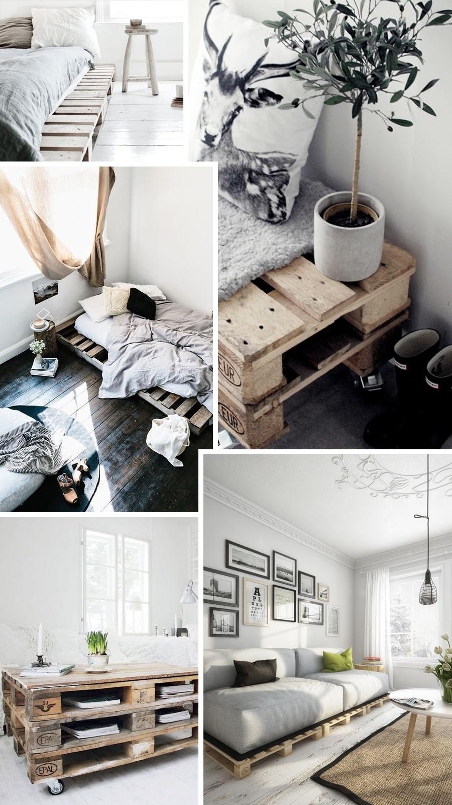 Interieur inspiratie pallets follow fashion for Kamer interieur inspiratie