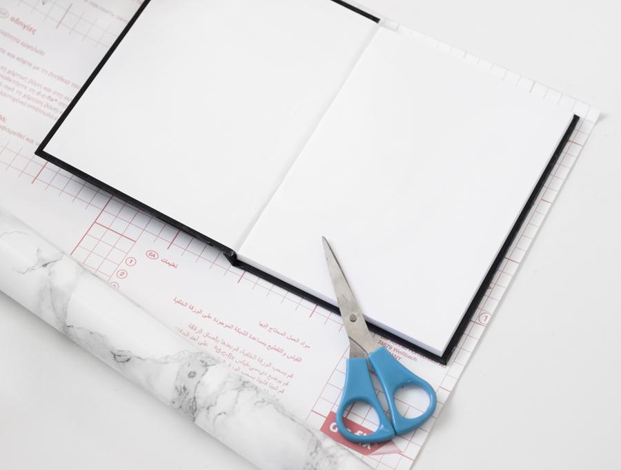diy-notitieboekje-marmer