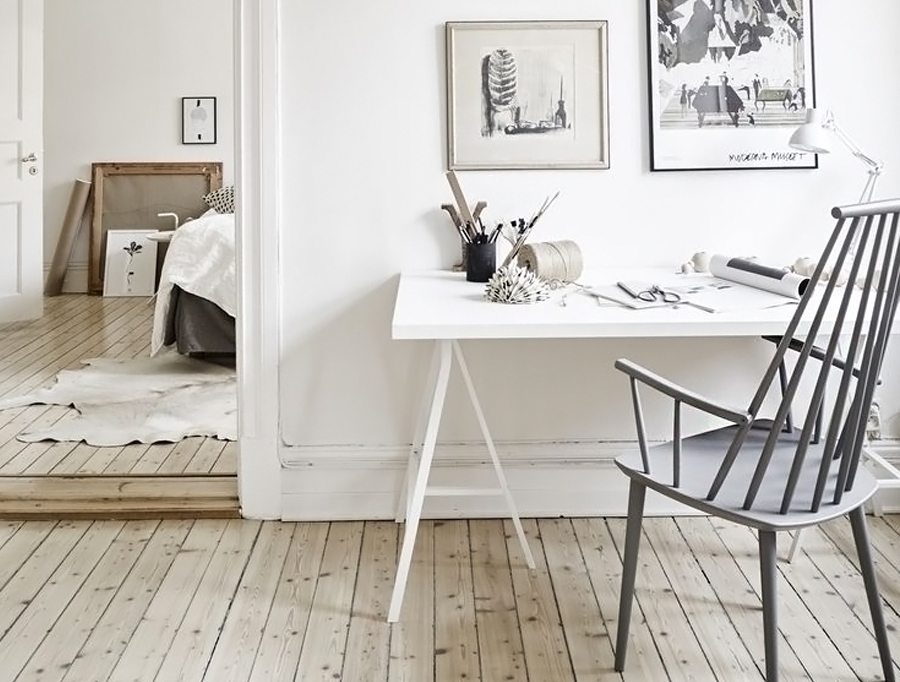 Interieurinspiratie: Hout en wit - Follow Fashion