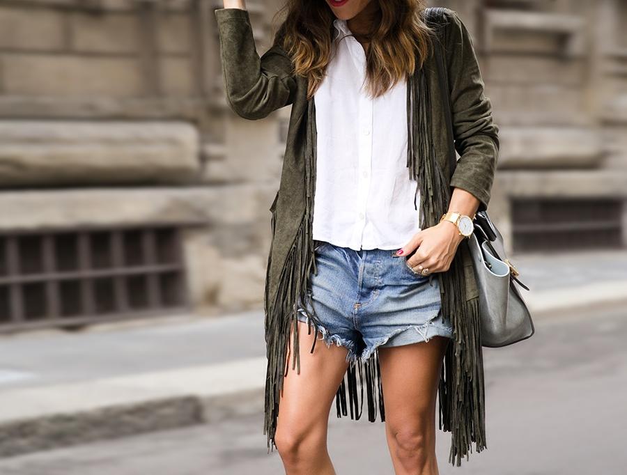 kleding met franjes