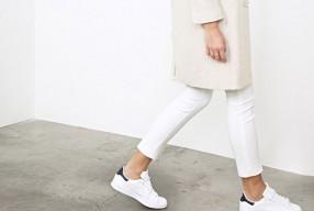 Witte sneakers wit houden
