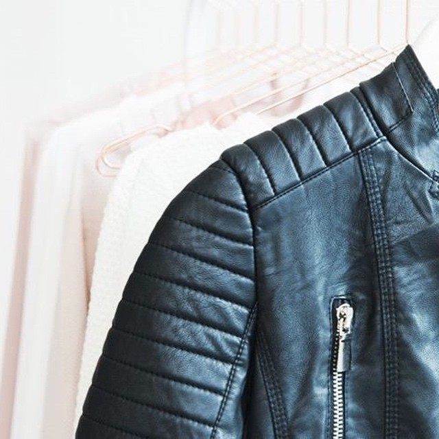 We love our bestseller: Black Biker Jacket! #followfashion #bikerjacket #musthave #follow #fashion