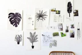 Interieurtrend 2015: Botanische print