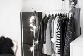 Interieurtrend: het kledingrek