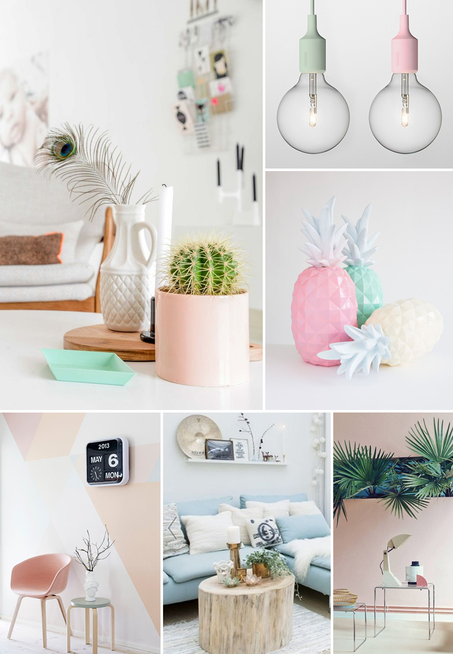 Interieur inspiratie pastel follow fashion for De laat interieur