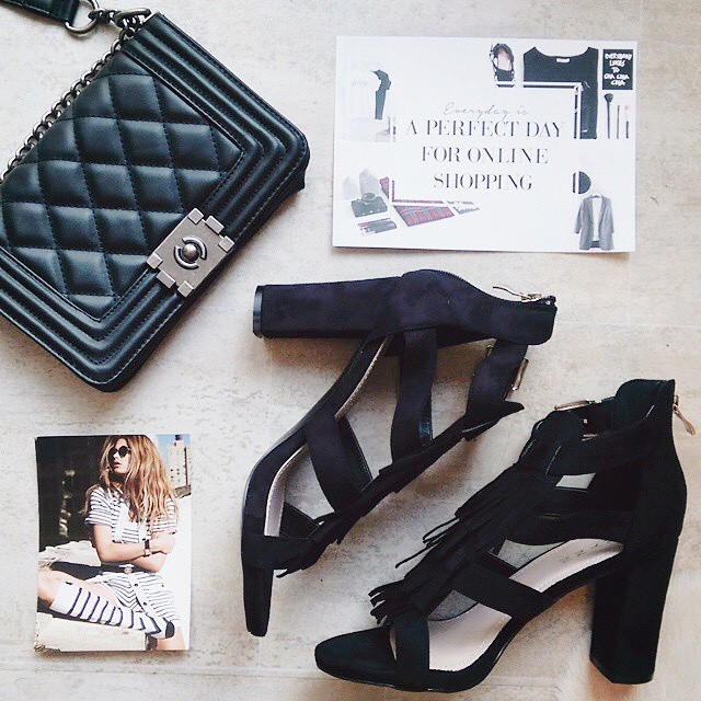 Bloggers favorites from our shop! #followfashion #musthaves #flatlay #heels