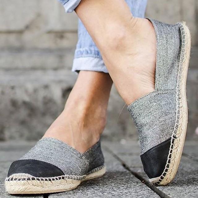 Hoe leuk zijn deze espadrilles? Nu online in de shop! #followfashion #espadrilles #shoes