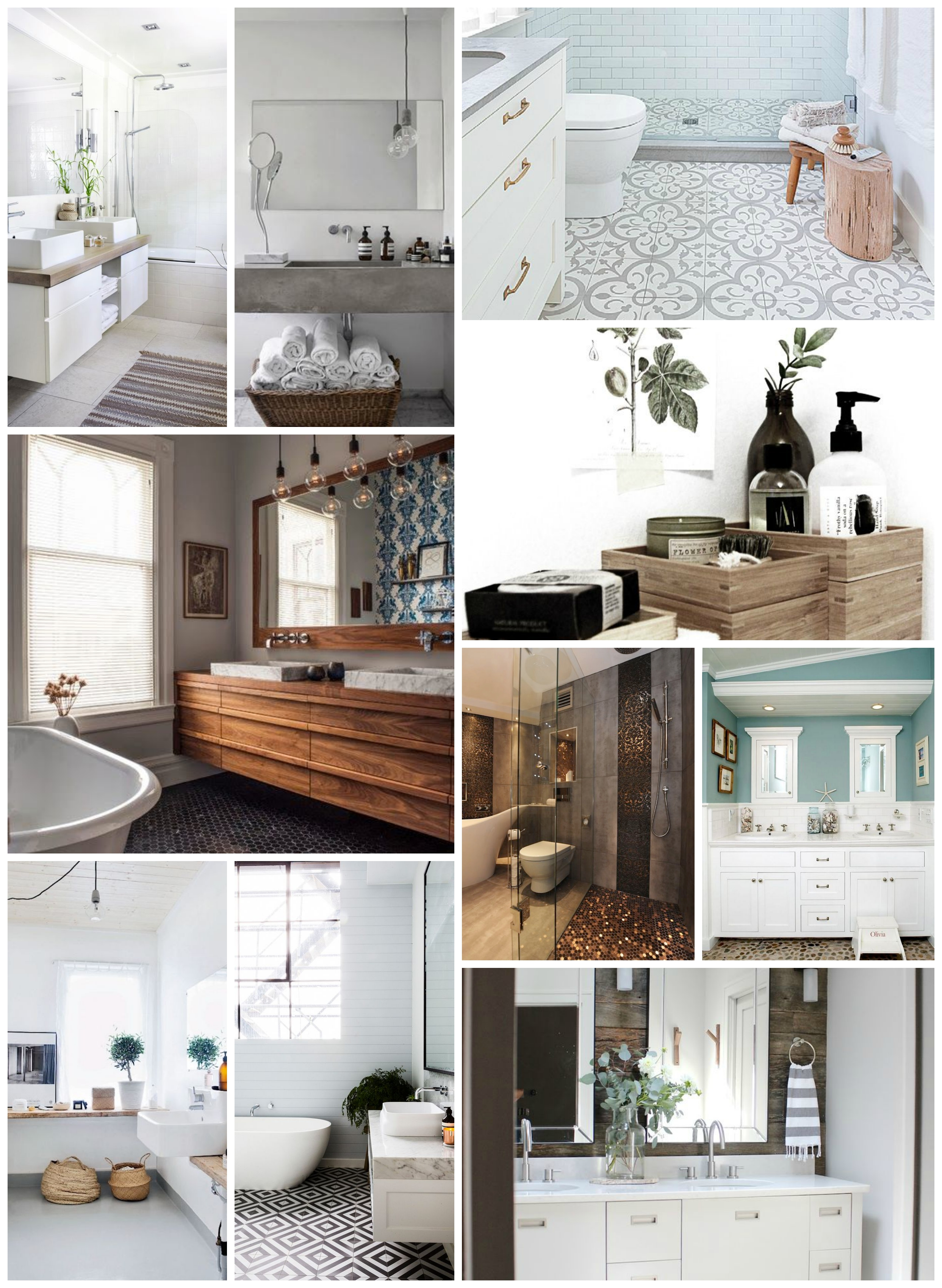 10 X De mooiste badkamer inspiratie