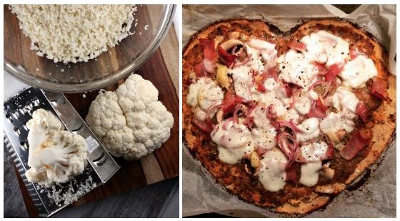 gezonde pizza