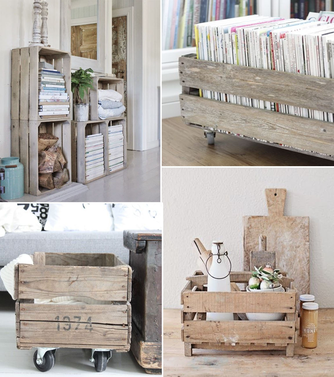 Interieur trend: houten kistjes   follow fashion
