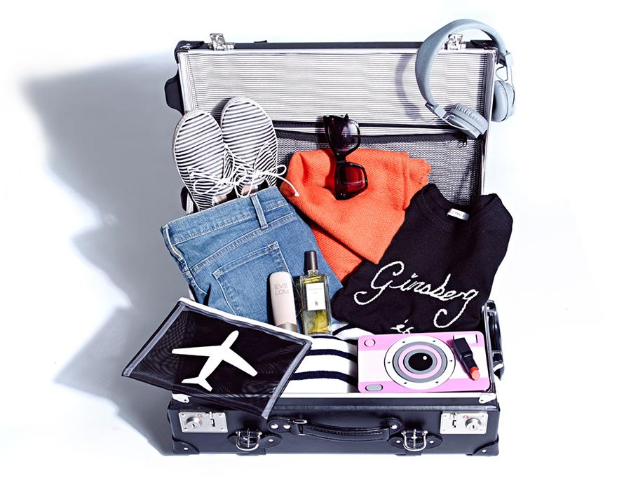 ruimte besparen bij koffers inpakken