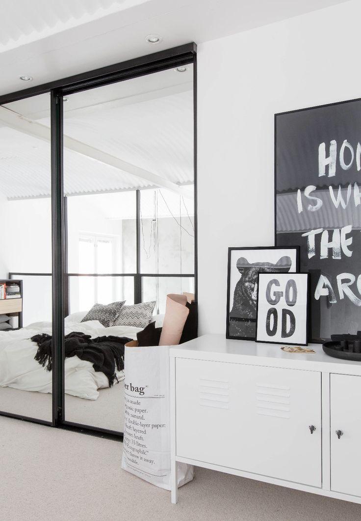 Slaapkamer inspiratie zwart wit nl loanski woonkamer eerste ver