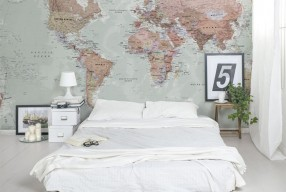 Friday Favourite: Wereldkaart aan de muur