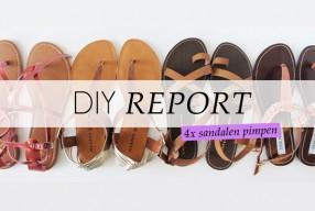 4 Manieren om je sandalen te pimpen