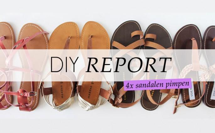 sandalen pimpen