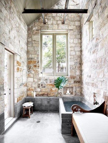 Interieurinspiratie: Stenen muur - Follow Fashion