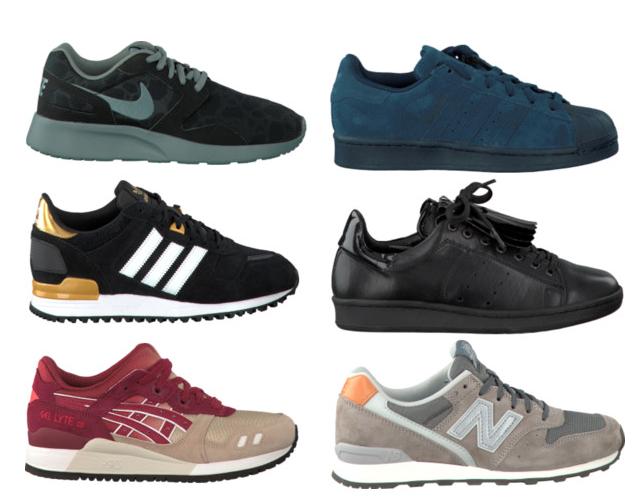 sneakers voor de herfst