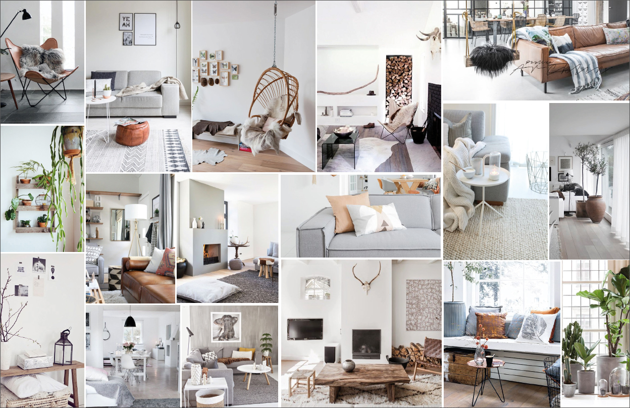 3 x moodboard interieur follow fashion for Interieur online