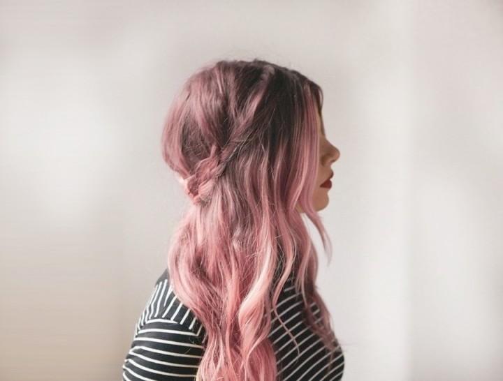 rose goud haar