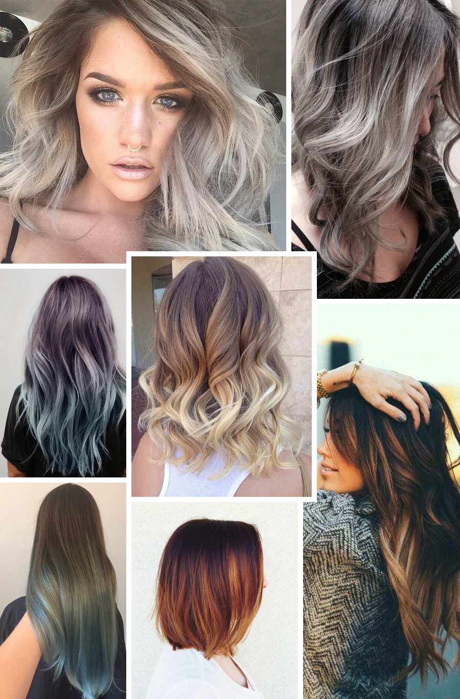 Haartrend Hidden Colors Follow Fashion