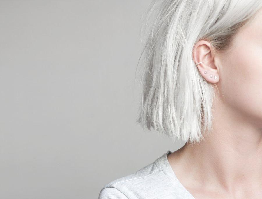 Minimalistische Oorbellen Zilver : Monday moodboard minimalistische oorbellen follow fashion