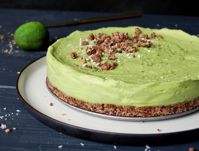 avocado taart