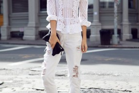 Outfit inspiratie: Witte jeans