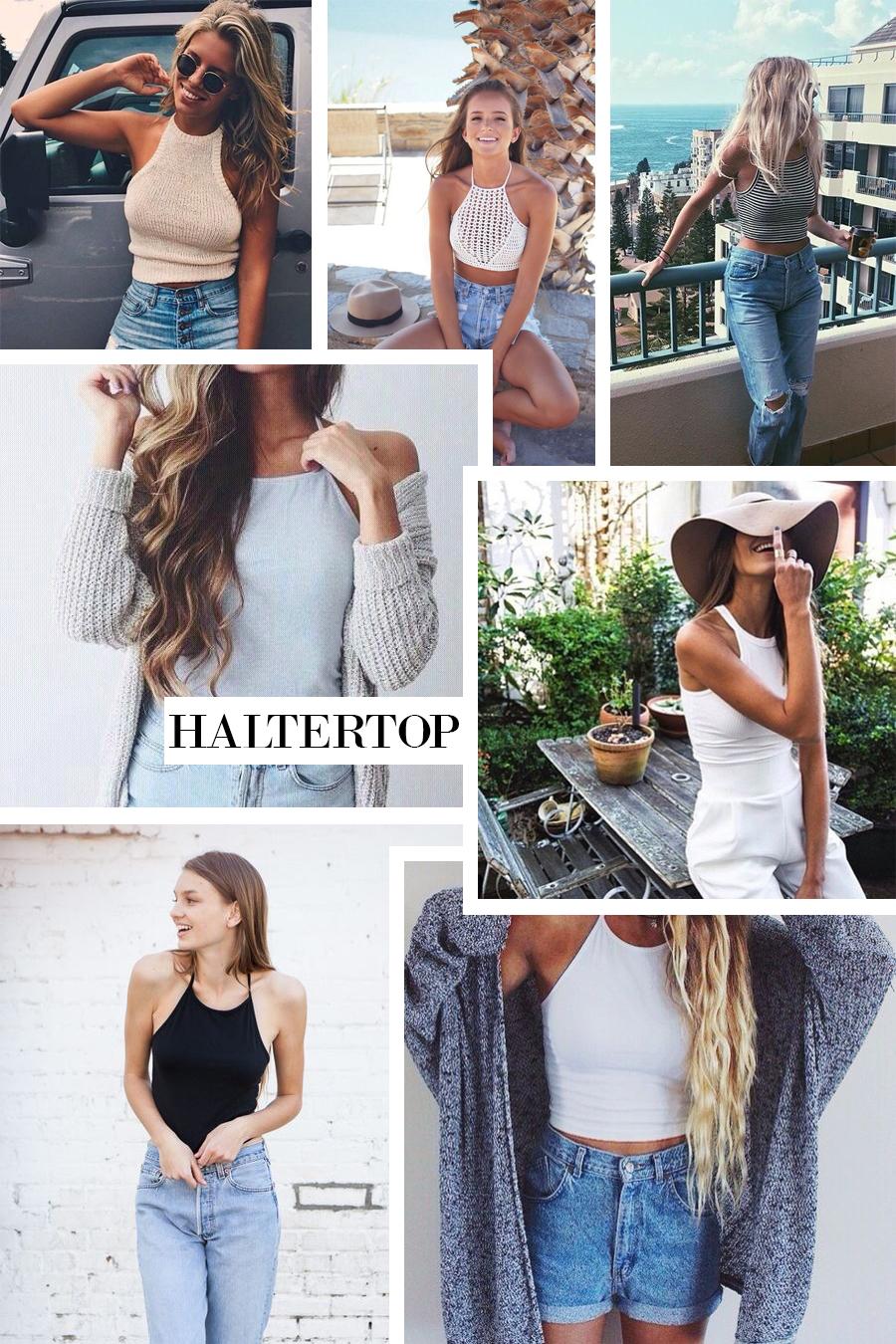 haltertop