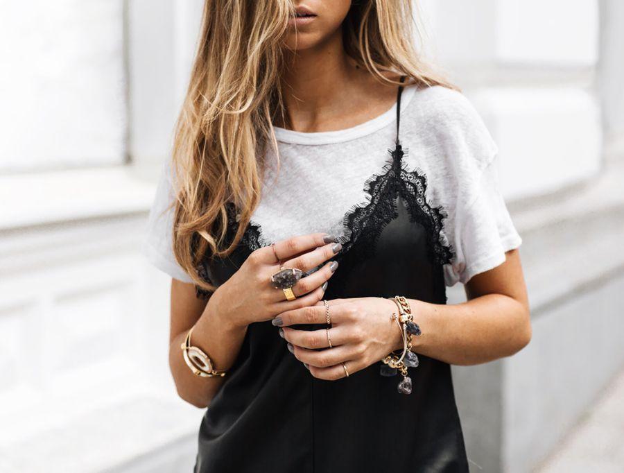 jurk over shirt