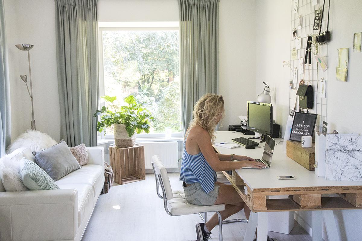 Werkplek Keuken Inrichten : Werkkamer inrichten: tips voor een fijne thuiswerkplek
