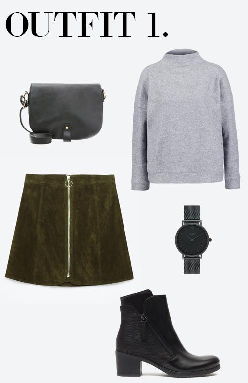 cb4bde5b69ed14 Outfit inspiratie met de suède rok - Follow Fashion