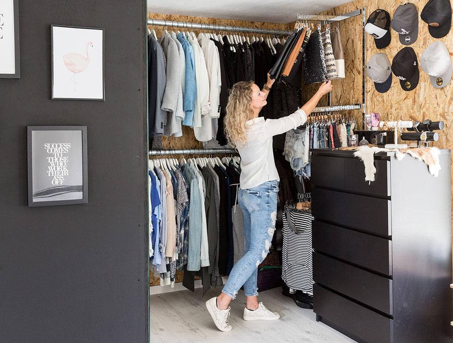 Perfecte Kamer Inloopkast : Inloopkast binnenkijken in onze walk in closet gezien in vtwonen