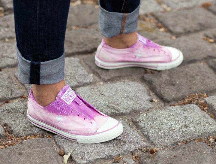 converse sneakers diy