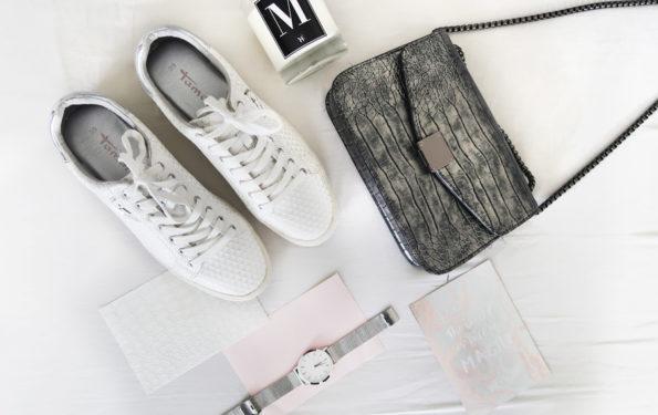 witte sneaker tamaris