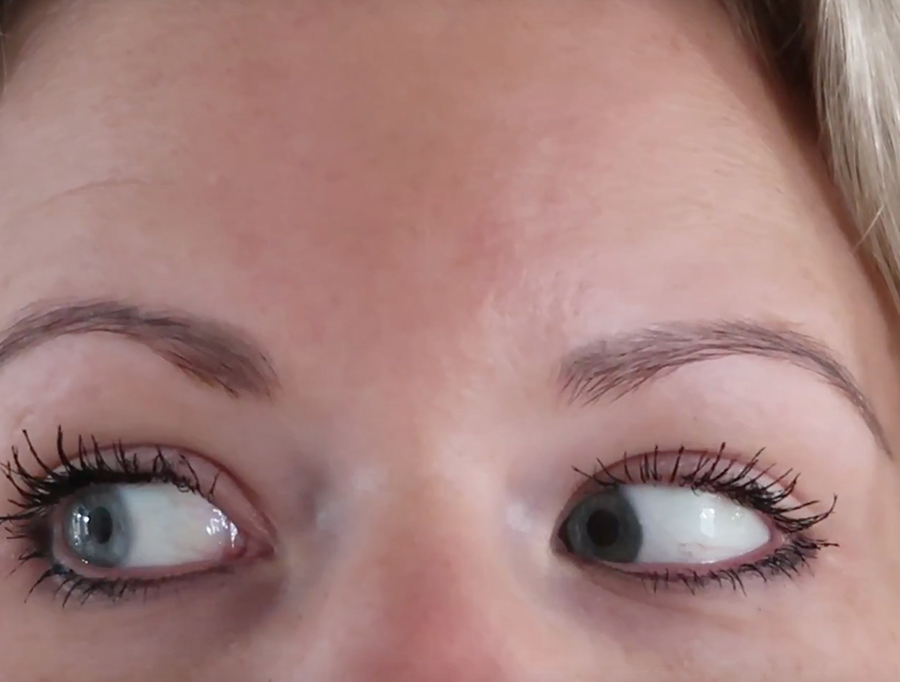 lash lift behandeling before