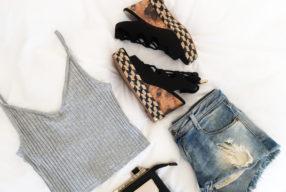 Outfit inspiratie: crop top & sleehak