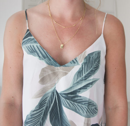 Outfit: Tropical top