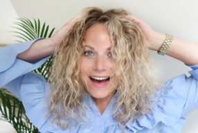 Mijn make-up en haar routine – krullend haar