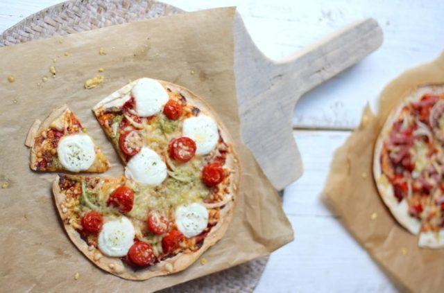 fitjournaal gezonde pizza