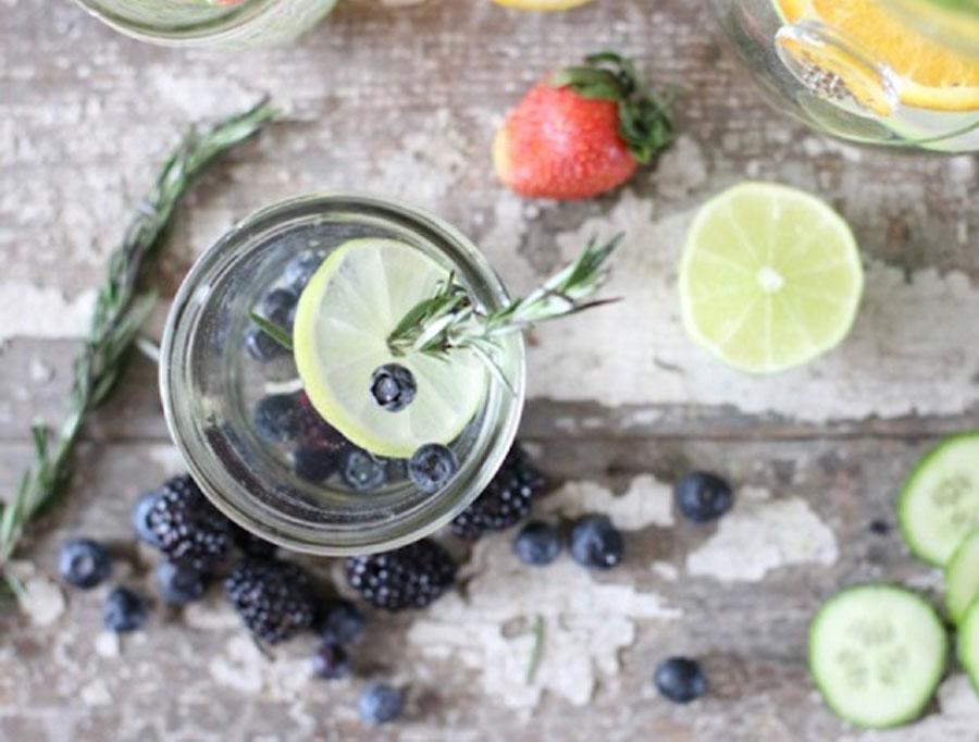 fitjournaal water met een smaakje