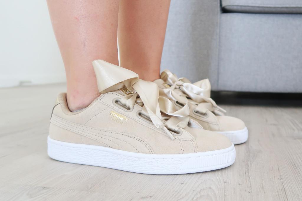puma heart sneakers