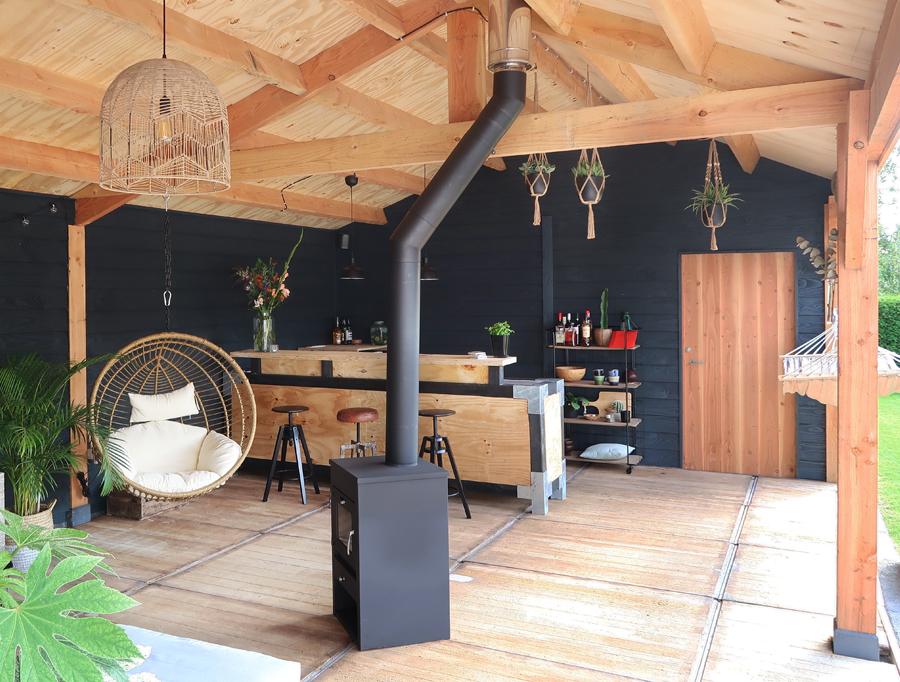 Tuininspiratie onze tuinverbouwing en veranda follow for Interieur veranda