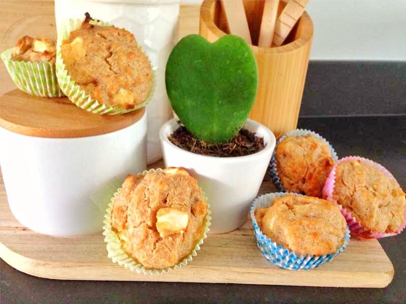 fitjournaal appeltaartmuffins
