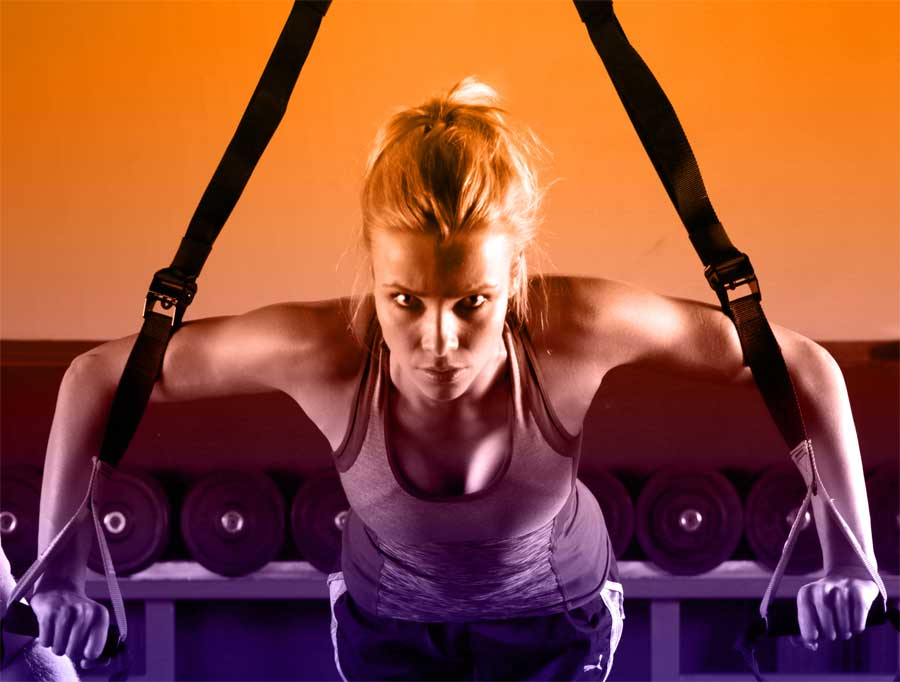fitjournaal trx workout