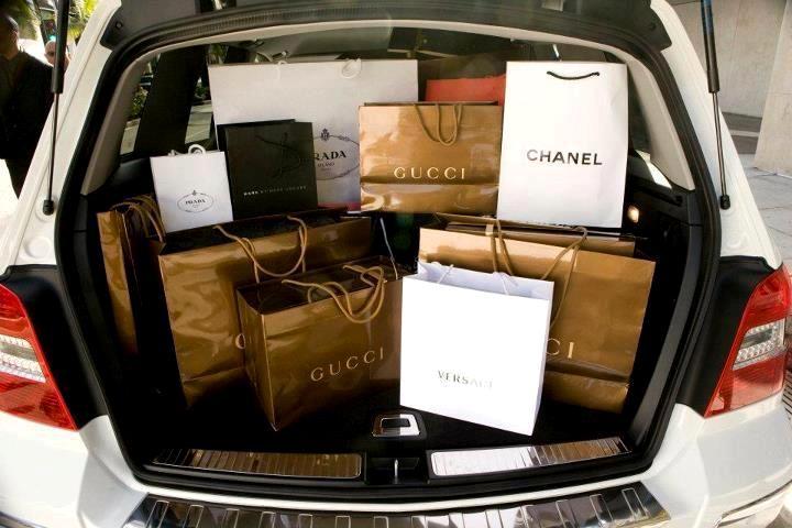 shoppen gezond economie