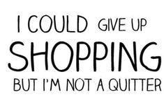 shoppen gezond quote