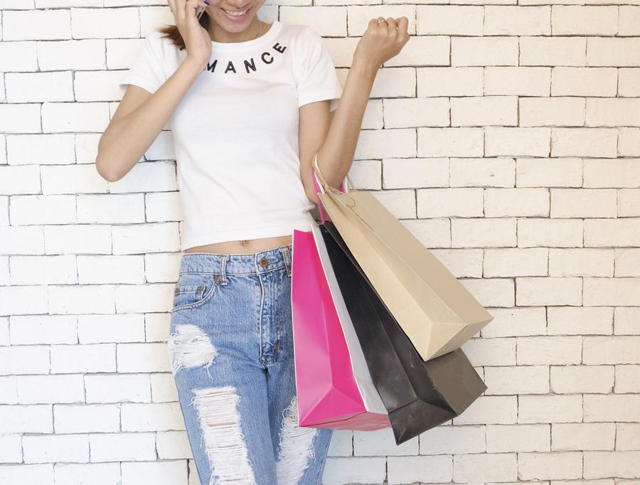 shoppen gezond