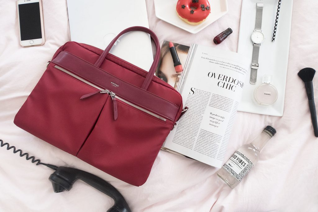 flatlay red