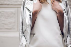 Trend gespot: metallic mode