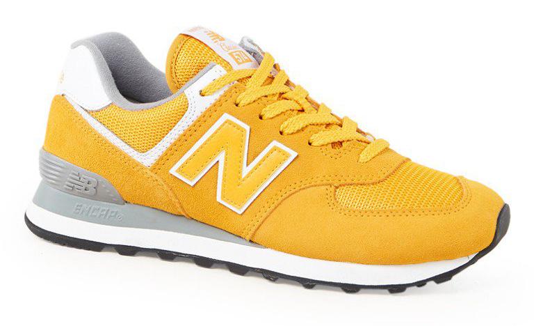 trend kleur geel sneaker